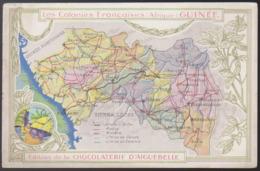 Carte Publicitaire - (Guinée) Edition De La Chocolaterie D'Aiguebelle - Les Colonies Francaises: Afrique: Guinée - Frans Guinee