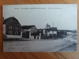 Villars Le Pautel Rue De L'abreuvoir Haute Saône Franche Comté - Frankrijk