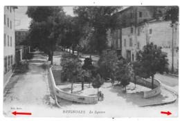 83 VAR Le Square De BRIGNOLES + Cachet 23ème Bataillon Chasseurs Alpins - Brignoles