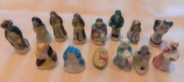 10 Fèves : Santons Avec Jésus - Santons