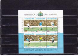 SAINT MARIN 1990 FOOTBALL Yvert BF 16 NEUF** MNH - San Marino