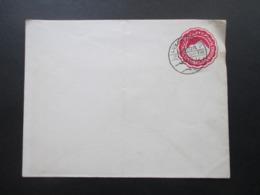 Ägypten 1906 Ganzsachen Umschlag Mit Stempel Luxor - Hotel Luxor 21.1.06 - 1866-1914 Khedivate Of Egypt