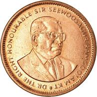 Monnaie, Mauritius, 5 Cents, 1987, SUP, Copper Plated Steel, KM:52 - Mauricio