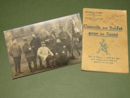 LIVRET DE CONSEIL DE SANTE DU POILU 1916 !!! - 1914-18