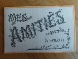 Mes Amitiés De Faverney (écrit Favernay) Haute Saône Franche Comté - Other Municipalities