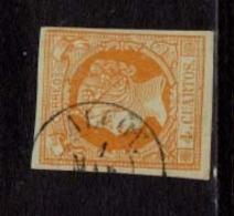 Año 1860 Edifil 52 4c Isabel II  Matasellos Alcoy Alicante Tipo II - Used Stamps