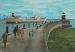 D-26721 Emden - Mole - Leuchtturm - Lighthouse - Frachter - Emden