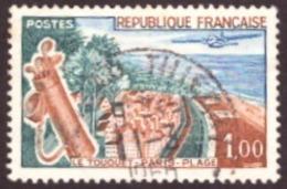 France 1962 -  The Seaside Resort Le Touquet TBE 1.00Fr - Usados