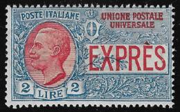 REGNO D' ITALIA - 1925 - POSTA ESPRESSO: Valore Nuovo Stl Da Lire 2 - In Ottime Condizioni. - 1900-44 Victor Emmanuel III.