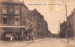02 . N°105643 .st Quentin .la Rue Du Cateau .cafe Olivier . - Saint Quentin