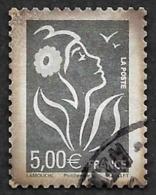 FRANCE  2006 -  YT  85 - Marianne 5e En Argent  - Oblitéré - Cote 10e - Adhésifs (autocollants)