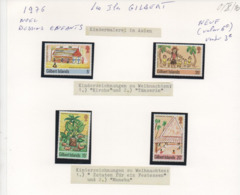 LES ILES GILBERT (GILBERT ISLANDS) - Timbres Dessin D'enfant (drawing Children) - Timbres