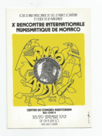 Monaco Centre De Congrés Auditorium X Rencontre Internationale Numismatique 1991 - Monaco