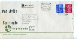 Spagna (1976) - Busta Aerea Raccomandata Per La Germania - 1931-Hoy: 2ª República - ... Juan Carlos I