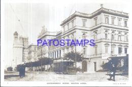 124033 ARGENTINA BUENOS AIRES PALACIO DE GOBIERNO TRANVIA TRAMWAY POSTAL POSTCARD - Belice