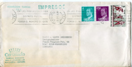 Spagna (1982) - Busta Per La Germania - 1931-Hoy: 2ª República - ... Juan Carlos I