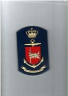 Danish Navy - FLS Kor - Tape De Bouche - 15 X 9,5 Cm - Danemark - Barcos