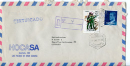 Spagna (1977) - Busta Aerea Per La Germania - 1931-Hoy: 2ª República - ... Juan Carlos I
