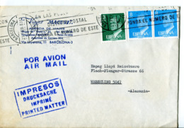 Spagna (1983) - Busta Per La Germania - 1931-Hoy: 2ª República - ... Juan Carlos I