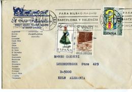 Spagna (1977) - Busta Per La Germania - 1931-Hoy: 2ª República - ... Juan Carlos I