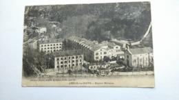 Carte Postale ( AA9 ) Ancienne De Amélie Les Bains , Hopital Militaire - Otros Municipios