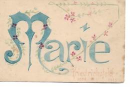 "Carte "" Fantaisie "" - MARIE - FRIEDRICHSFELD - 1914 1915 - Andere"