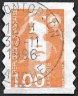 FRANCE  1996 -  YT  8 - Adhésif - Oblitéré - Adhésifs (autocollants)