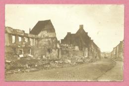59 - ORCHIES - Carte Photo Allemande - Destructions - Ruines - Guerre 14/18 - Orchies