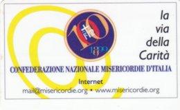 VIACARD CONFEDERAZIONE NAZIONALE MISERICORDIE D' ITALIA LA VIA DELLA CARITA - Italia