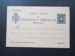 Spanien 1903 Ganzsache P 36 II Doppelkarte Ungebraucht! Guter Zustand! - Interi Postali