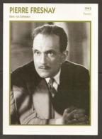 PORTRAIT DE STAR 1943 FRANCE - ACTEUR PIERRE FRESNAY Dans LE CORBEAU - ACTOR CINEMA FILM PHOTO - Fotos