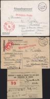 Guerre 39 Documents Stalag VIII C SAGAN CAD 25 9 41 Censure Illustrée Cor De Chasse Prrisonnier Accusé Réception Colis - Briefe U. Dokumente