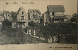 De - La Panne // Groupe De Villas 1912 Ed. Star - De Graeve  No. 1606 - De Panne