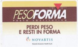 VIACARD NOVARTIS PESO FORMA - Italia