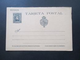 Spanien 1901 Ganzsache P 37 Doppelkarte Ungebraucht! - Interi Postali