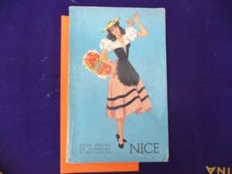 Guide 1952 NICE ( Publicité Illustré Photo AIR FRANCE  BOEING / Hotel / Autres Divers - Côte D'Azur