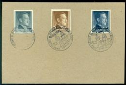 Deutsches Reich Generalgouvernement 1941 Briefstück Mit Mi 71, 72 Und 73 - Bezetting 1938-45