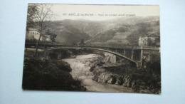Carte Postale ( AA9 ) Ancienne De Amélie Les Bains , Pont En Ciment - Otros Municipios
