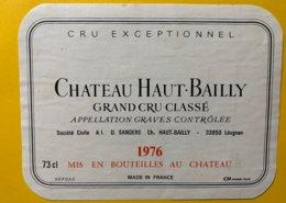 12159 - Château Haut-Bailly 1976 Graves - Bordeaux
