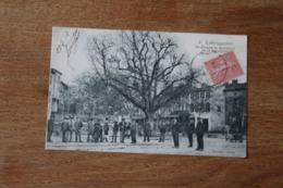 Carte Postale Ancienne  TARN LABRUGUIERE Le Kiosque Et Ses Habitants 1906 - Labruguière