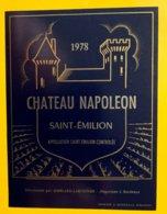 12171 - Château Napoleon 1978 Saint-Emilion - Bordeaux