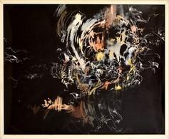 1991 Nagy Hedvig (1960-): Tüll-tájkép. Vegyes Technika, Papír, Jelzett, üvegezett Keretben, 41x51 Cm - Non Classificati