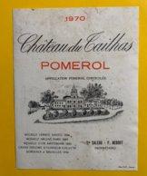 12172 - Château Du Tailhas 1970 Pomerol - Bordeaux