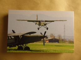 SWISS AIR FORCE   PILATUS PC-6 TURBO -PORTER - 1946-....: Ere Moderne