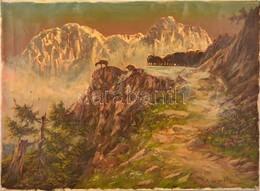 Friedrich Wisternigg (1911-1989): Hegyi Táj. Olaj, Vászon, Jelzett, 60×80 Cm - Non Classificati