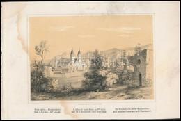 Szerelmey Miklós (1803-1875): Mária-egyház A Magrit Szigeten; Mária Egyház Romai A Margit Szigeten Buda és Pest Közt A 1 - Incisioni