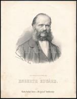 1867 Engerth Eduárd / Edouard Ritter Von Engerth (1818-1897) Osztrák Festő Kőnyomatos Képe. Marastoni József Képe. /  Au - Incisioni