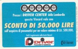 VIACARD DRIVER PNEUMATICI & ASSISTENZA - Italia