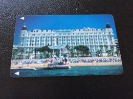 Hotelkarte Room Key Keycard Clef De Hotel Tarjeta Hotel  CARLTON INTER-CONTINENTAL CANNES - Telefonkarten