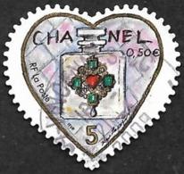 FRANCE  2004 -  YT  38 - Adhésif - Coeur Chanel - Oblitéré - Adhésifs (autocollants)